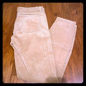 Jcrew skinny corduroy pants